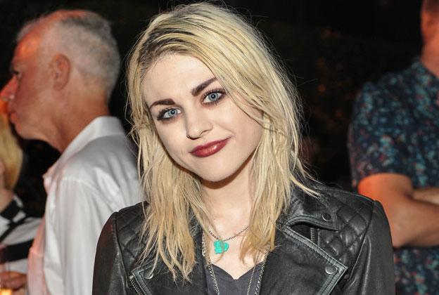 Frances Cobain wears  (Jacket )
