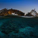 The wreck of the Louilla at sunset (Tökölyi Csaba)
